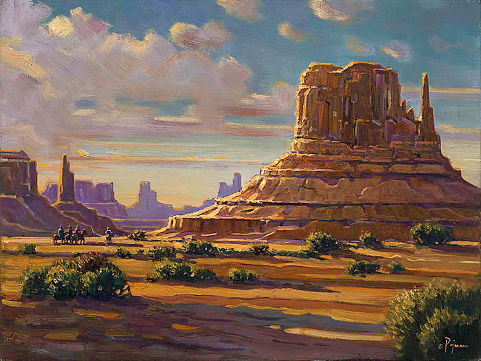 Pejman Monument Valley Sunrise